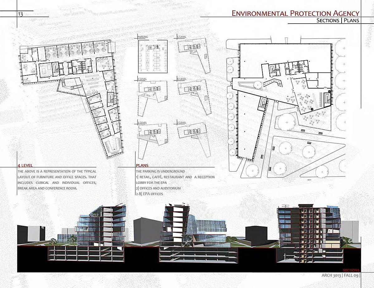 Architecture Professional Portfolio Layout