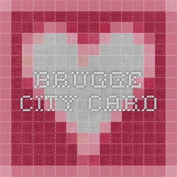 Brugge City Card
