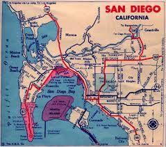 san diego ca | San diego travel, San diego map, California ...