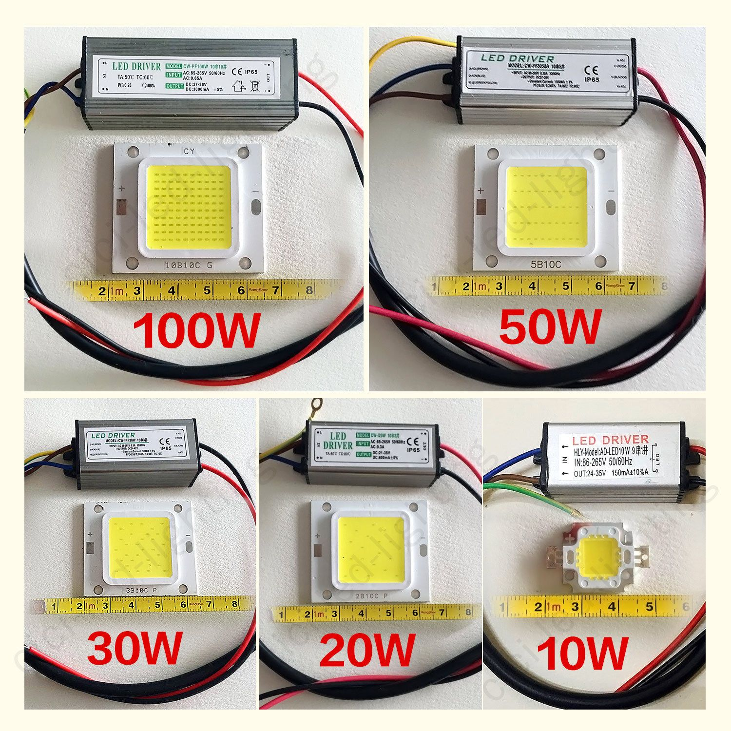 Led Cob Chip Power Supply Driver 100w 50w 30w 20w 10w Smd For Flood Light Bulb Ebay Led Drivers Power Led Led