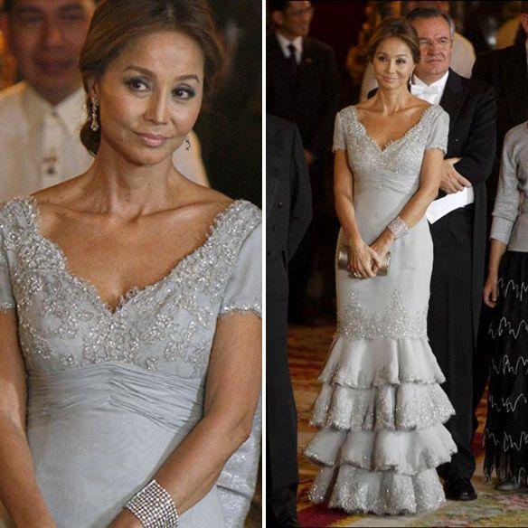 Isabel Preysler Wedding Dress