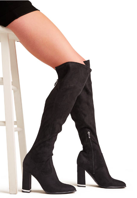 f809085afd9 Suede Over The Knee Classic Boot NATIER by Marc Fisher | Products ...