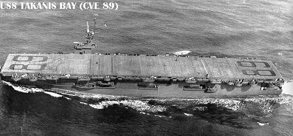 USS Takanis Bay (CVE 89)