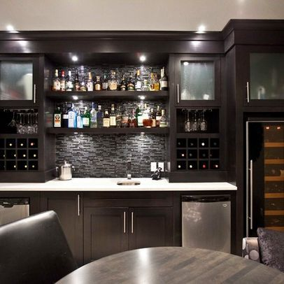 Basement bar design ideas pictures remodel and decor for Wet bar decor