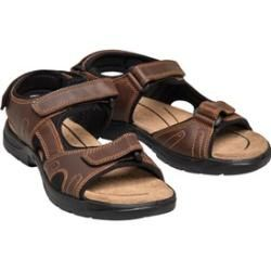 Photo of Onfire Herren Leather Sportsandalen Dunkelbraun Onfire