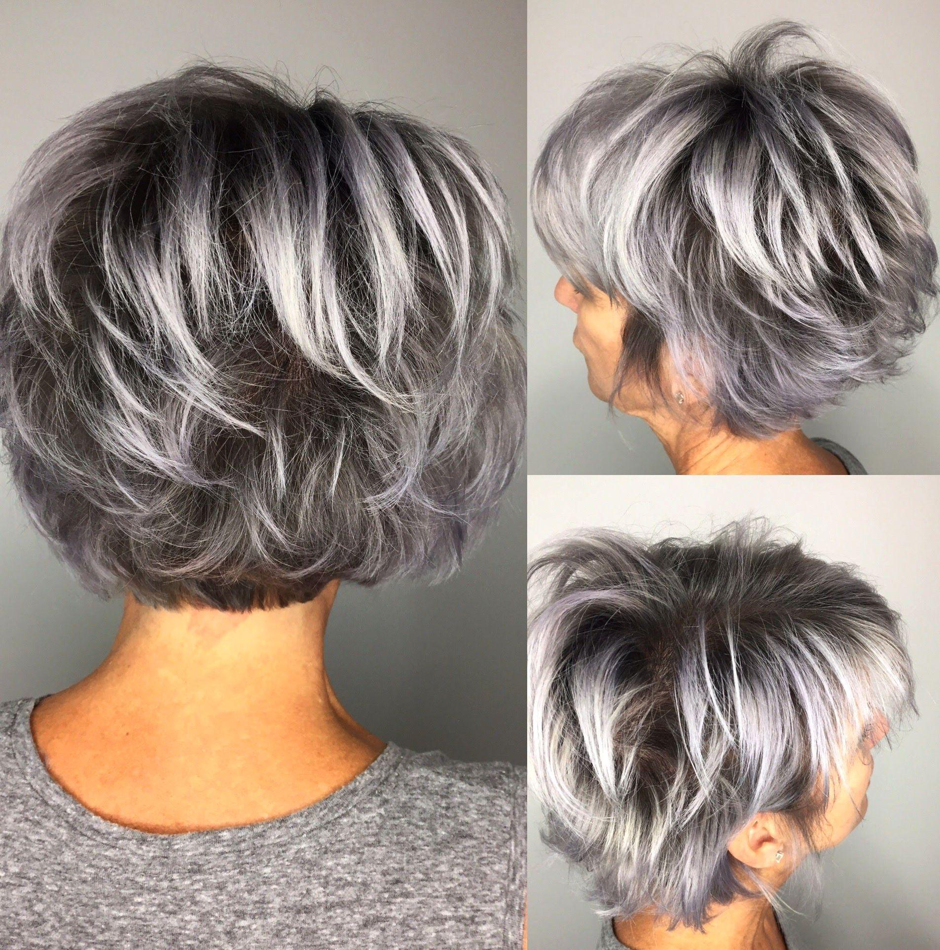 33++ Choppy bob hairstyles for grey hair information