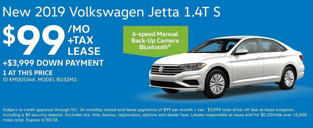 Volkswagen Lease Deals in 2020 Volkswagen jetta