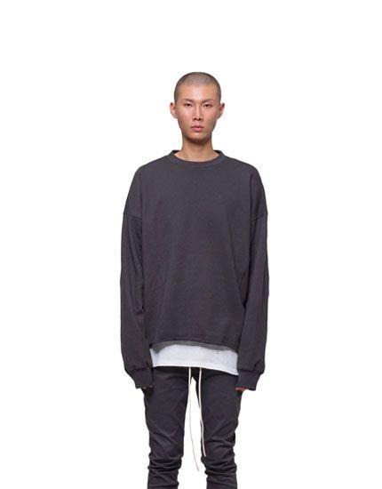 RCNP Heavy Sweatshirt(Charcoal)