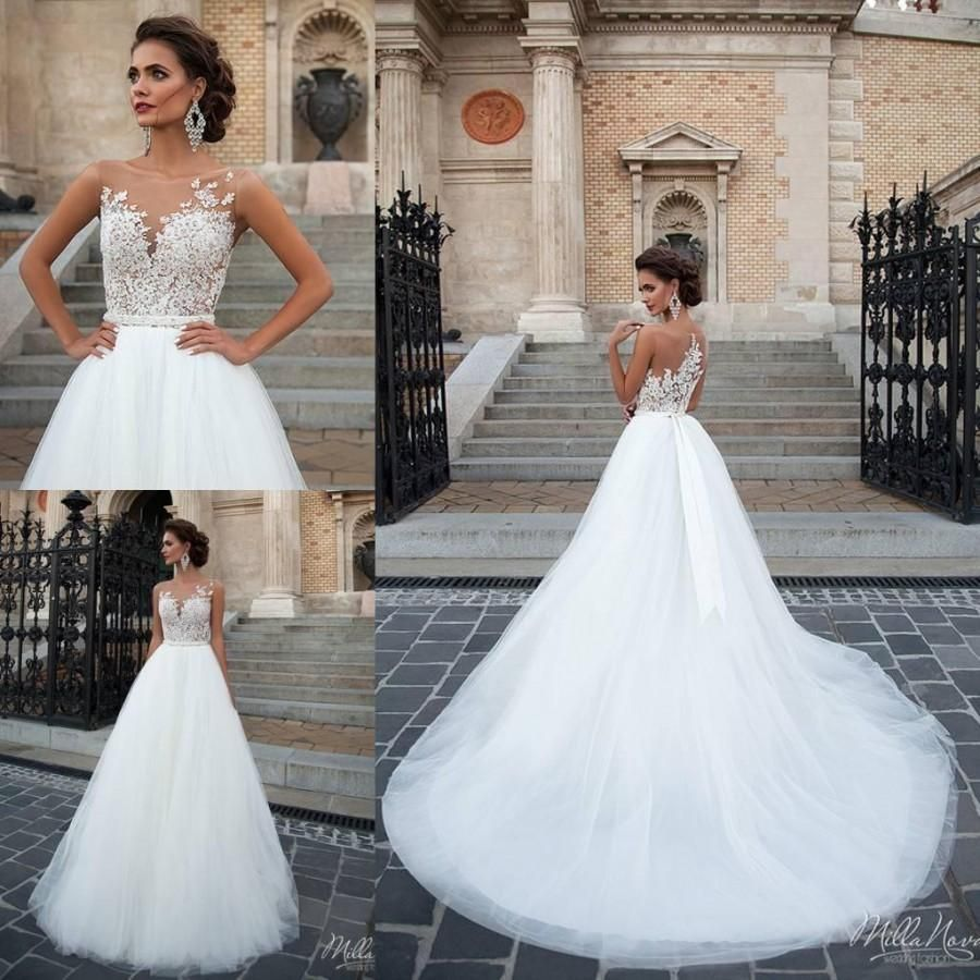 Image result for backless ball gown wedding dress | wedding dress ...
