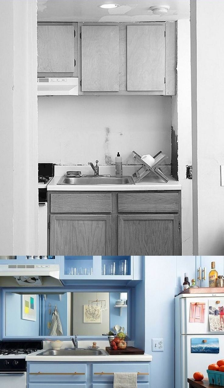 Before and After: No-Reno NYC Kitchen Makeover