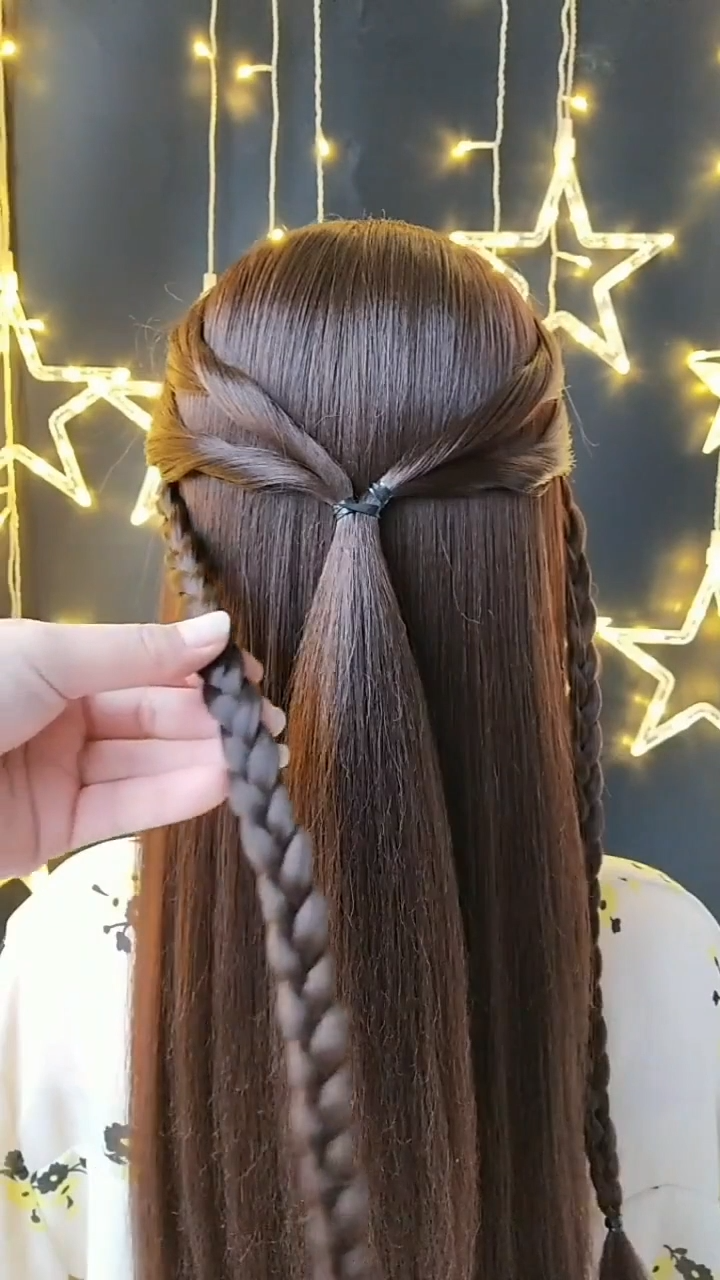 Wedding Hairstyles Videos Wedding Hairstyles Weddinghairstyles Simple Hairstyles To Try On Your Wedding Day In 2020 Braids For Long Hair Hair Styles Long Hair Video