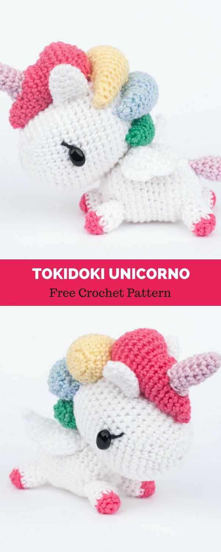 Tokidoki Unicorno [ FREE CROCHET PATTERN | Amigurumi patterns ...