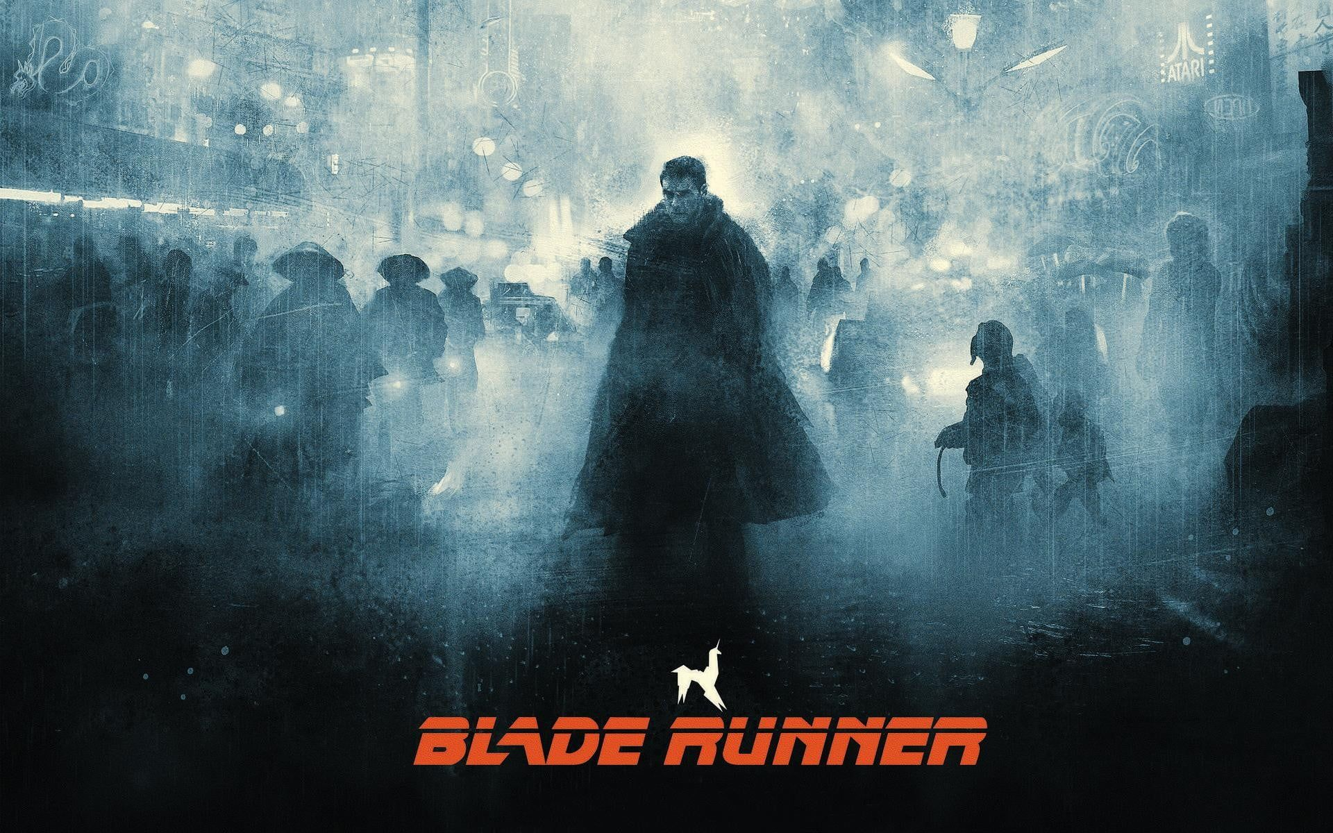 Blade Runner Digital Wallpaper Blade Runner Digital Art Science Fiction Movies Harrison Ford Blade Runner Wallpaper Blade Runner Blade Runner 2049 Wallpaper
