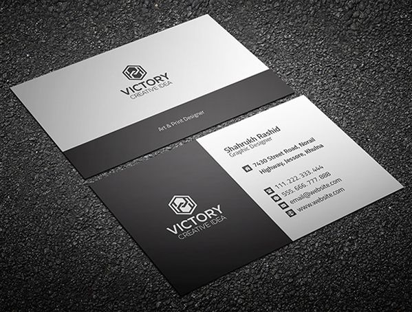 Graiht corporate business card businesscards fridayfreebie free business cards psd templates print ready design freebies accmission Image collections