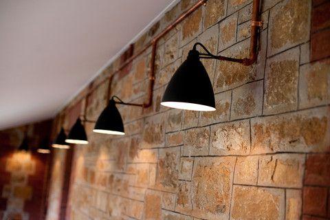 Copper Conduit Pipe Google Search Bedroom Decor Conduit Lighting Hallway Decorating