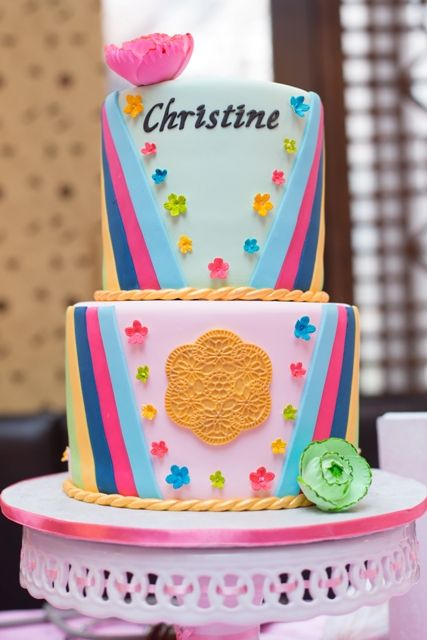 Hanbok Cake For Korean 1st Birthday CakesByChristineNY