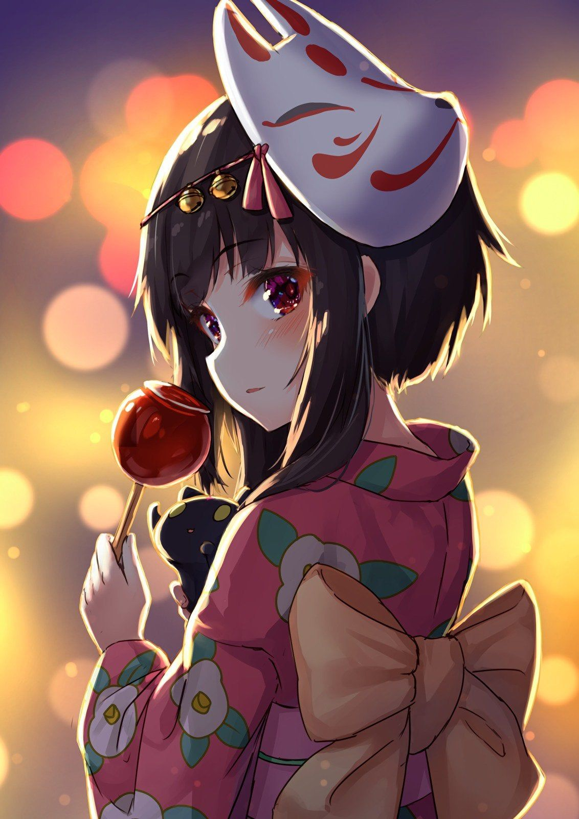 Eden of the East Anime scenery, Anime fanart, Kawaii anime