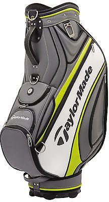 Taylormade Golf Tour Cart Bag 2017 Gray White Green New