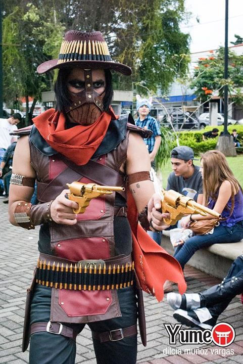 My Cosplay, Erron Black from Mortal Kombat X | Comic Con
