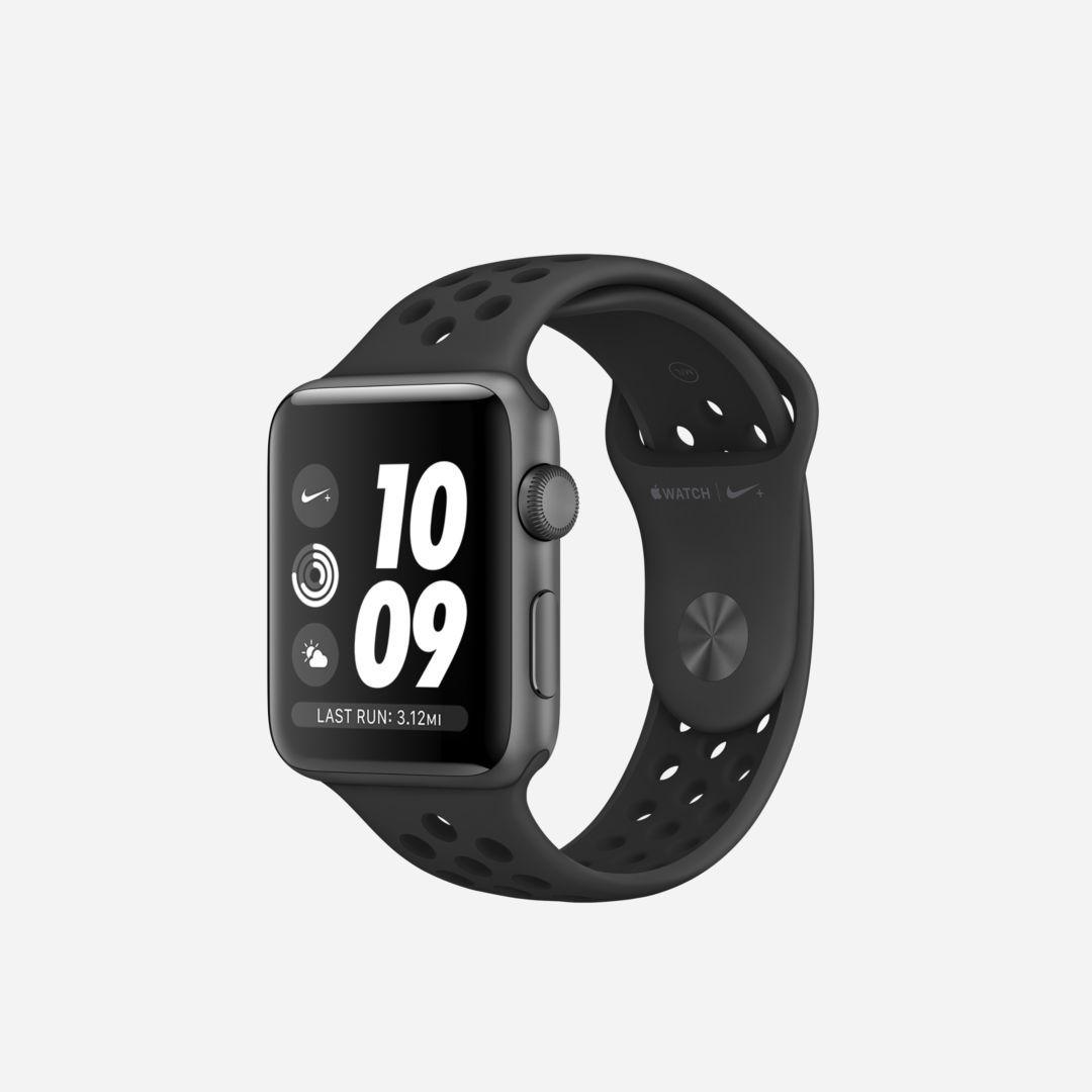 Apple Watch Nike Series 3 Gps 42mm Running Watch In 2020 Apple Watch Nike Apple Watch Running Watch