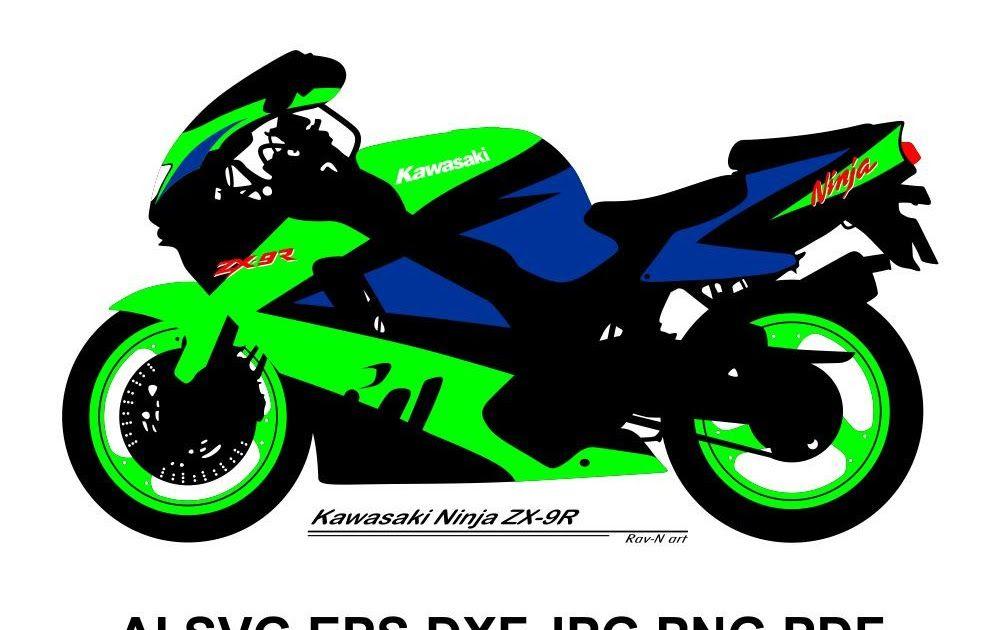 Download Gambar Motor Ninja 250 Kawasaki Ninja Club Vector
