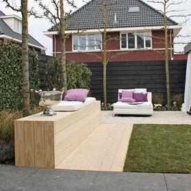 Luxe lounge tuin eigen huis tuin tuin idee n for Moderne loungebank tuin