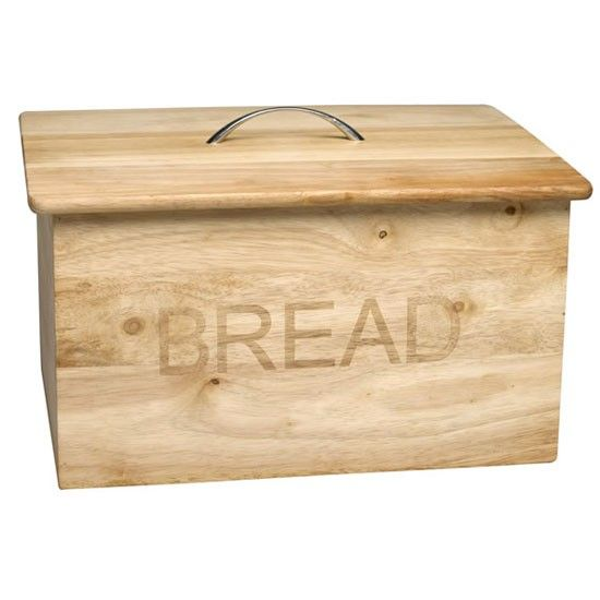 Food & Kitchen Storage Cookware, Dining & Bar Wooden Bread Bin