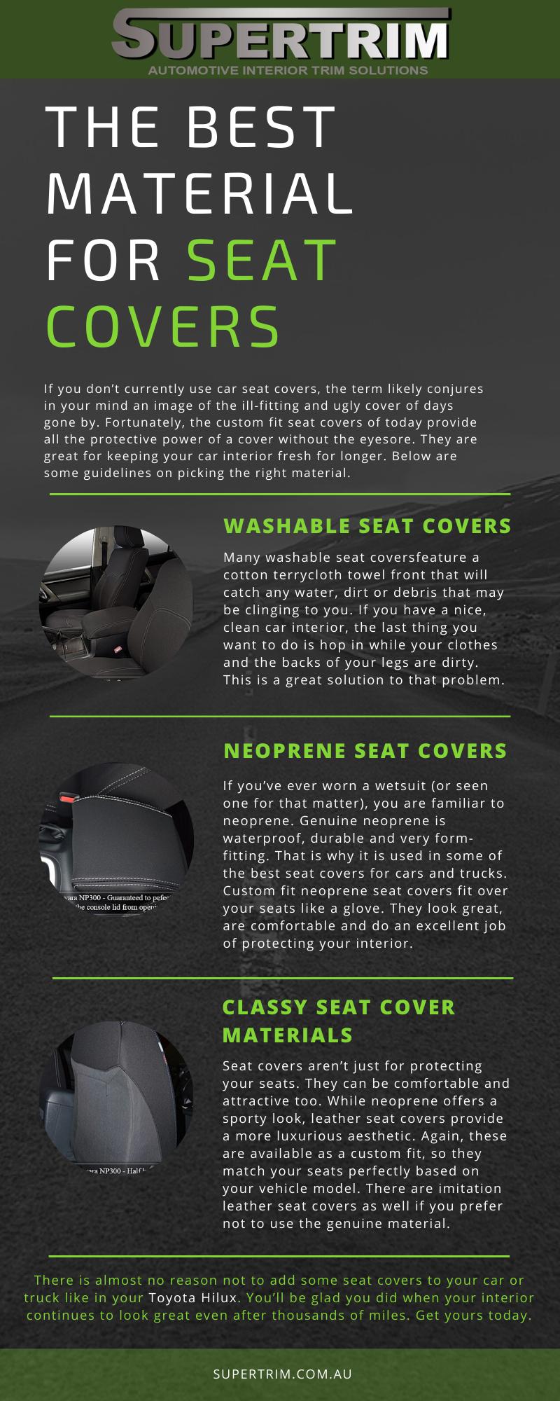 Custom Neoprene Car Seat Covers For Toyota Hilux Custom Car Seat Covers Carseat Cover Seat Covers