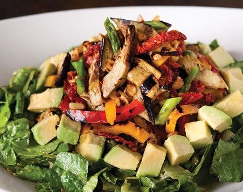 California Pizza Kitchen Copycat Recipes Roasted Vegetable Salad Recipes Pinterest Roast