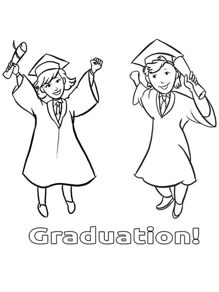 Graduation Ceremony Coloring Pages Graduation Day Is A Day That Students Always Look Forward T In 2020 Coloring Pages Printable Coloring Pages Coloring Pages To Print