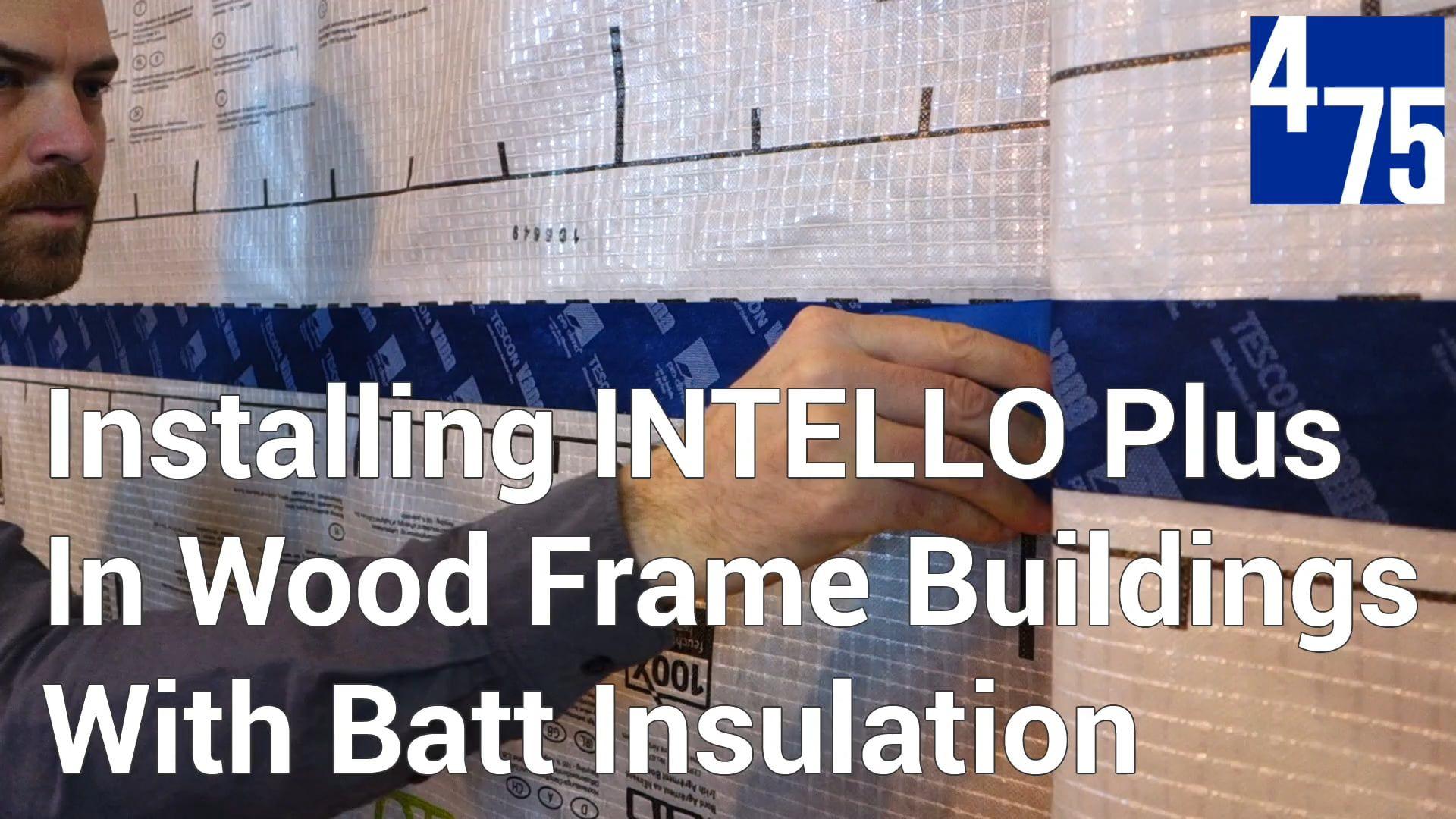 INTELLO Plus Installation Video | House Construction | Pinterest
