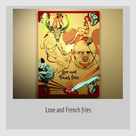 LOVE AND FRENCH FRIES. YENY CASANUEVA Y ALEJANDRO GONZÁLEZ. PROYECTO PROCESUAL ART.