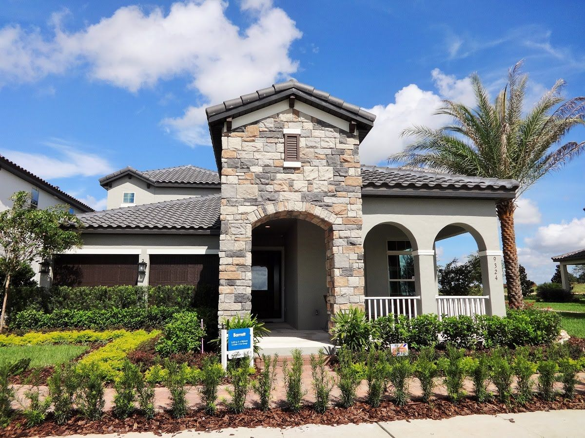Watermark By Meritage Homes Barrett Model Winter Garden New - Winter-garden-homes