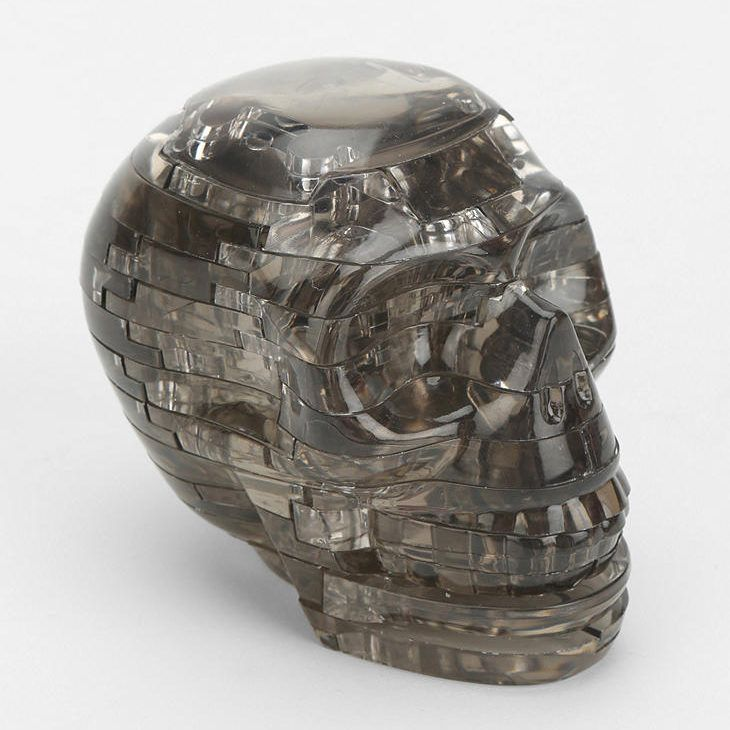 Festive Home Decor Fit For A Halloween Party And Far Beyond 3d Crystal Crystals Skull Puzzle