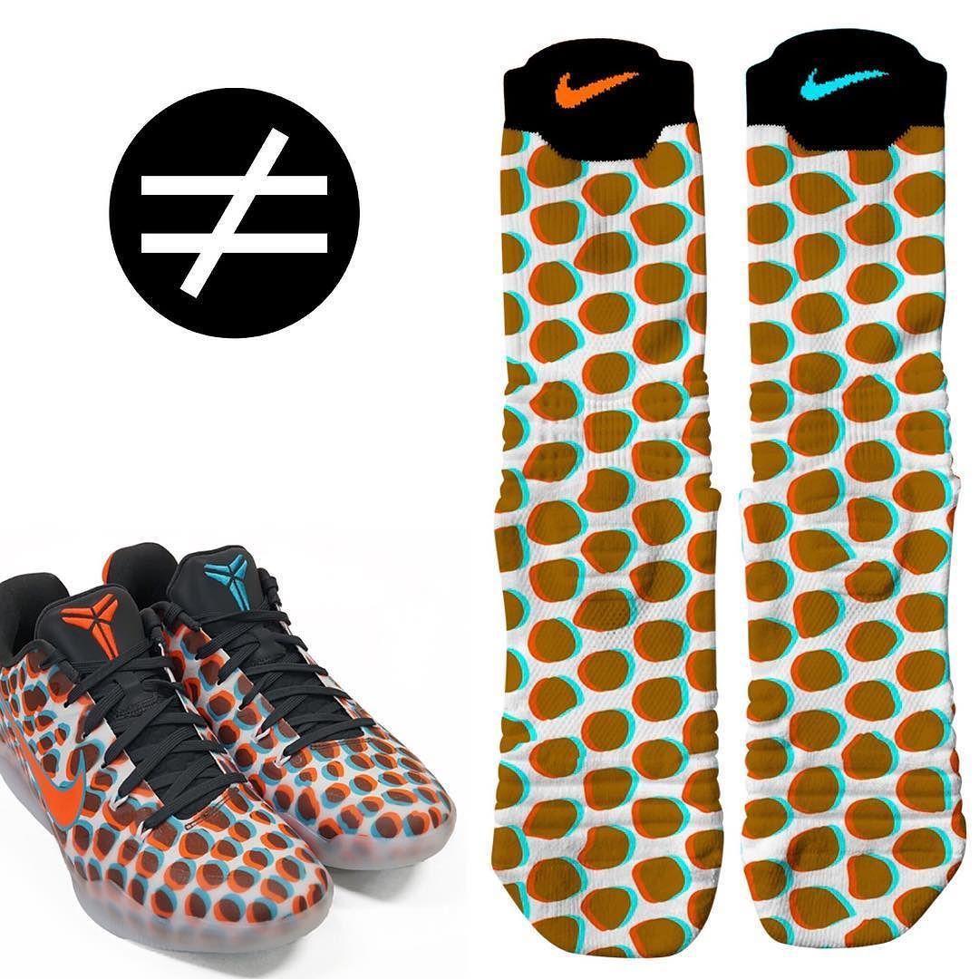 reputable site 01560 017d1 Kobe 11 3D Nike Elite Versatility Socks SneakerWork.com