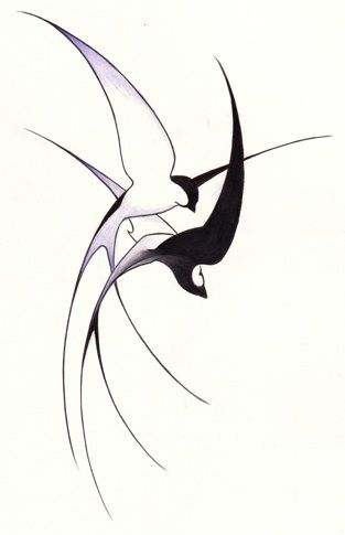 swallows- I think this would be an amazing tattoo with a nautical compass