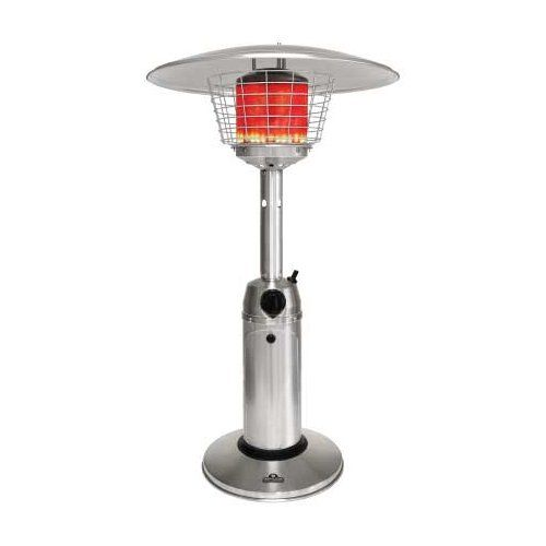 Outdoor Heaters Napoleon Tabletop Patio Heater 11000 Btu Propane Stainless Steel Click Image To