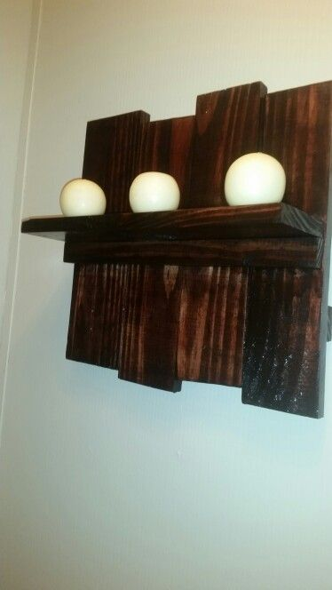 Shelf - Made out of pallet wood. | Shelves, Pallet shelves ...