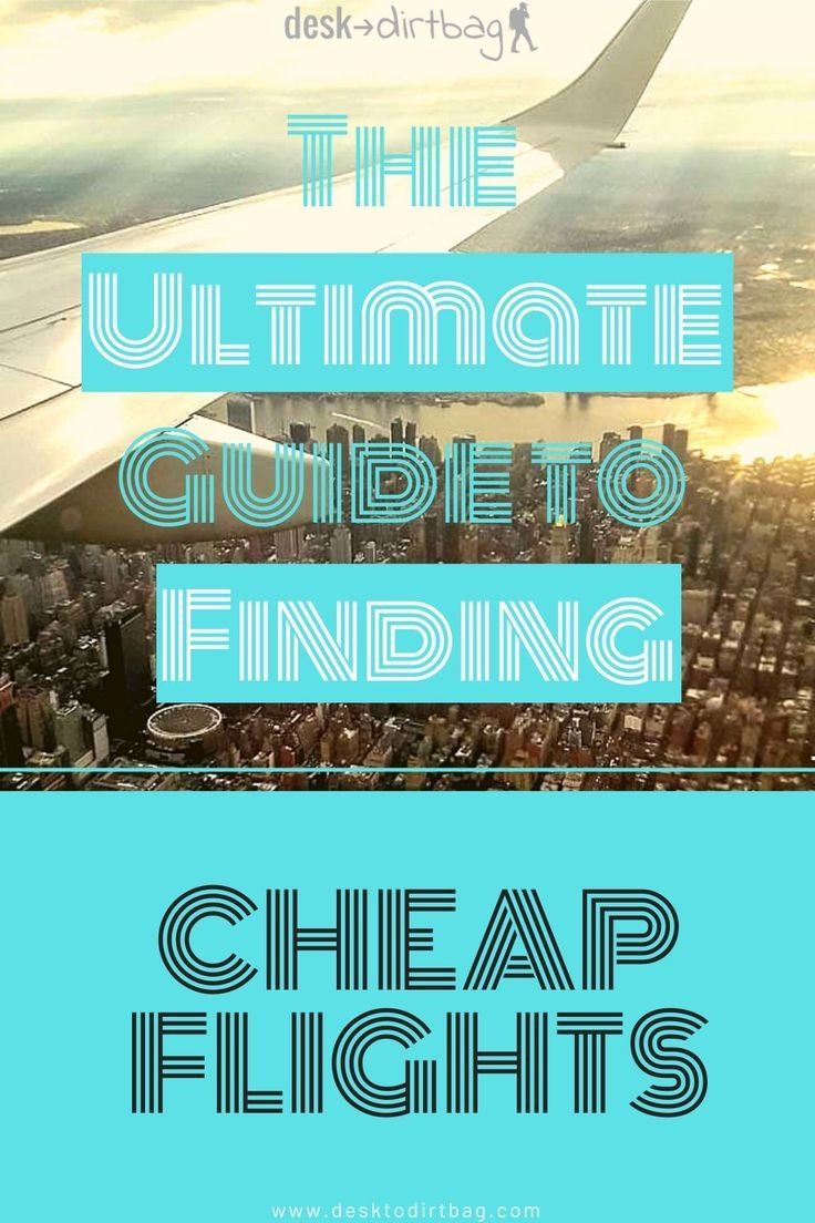 Flights tend to be one of the biggest expenses when it comes to travel and vacation... But there are lots of different ways to save money (hundreds, even thousands). Learn some of the best ways in this guide about how to find cheap flights! #flying #cheapflighthowtoget #travelhacking #howtofindcheapflights #cheapflights #cheapflighthacks #cheapflighthowtofind #howtofindacheapflight
