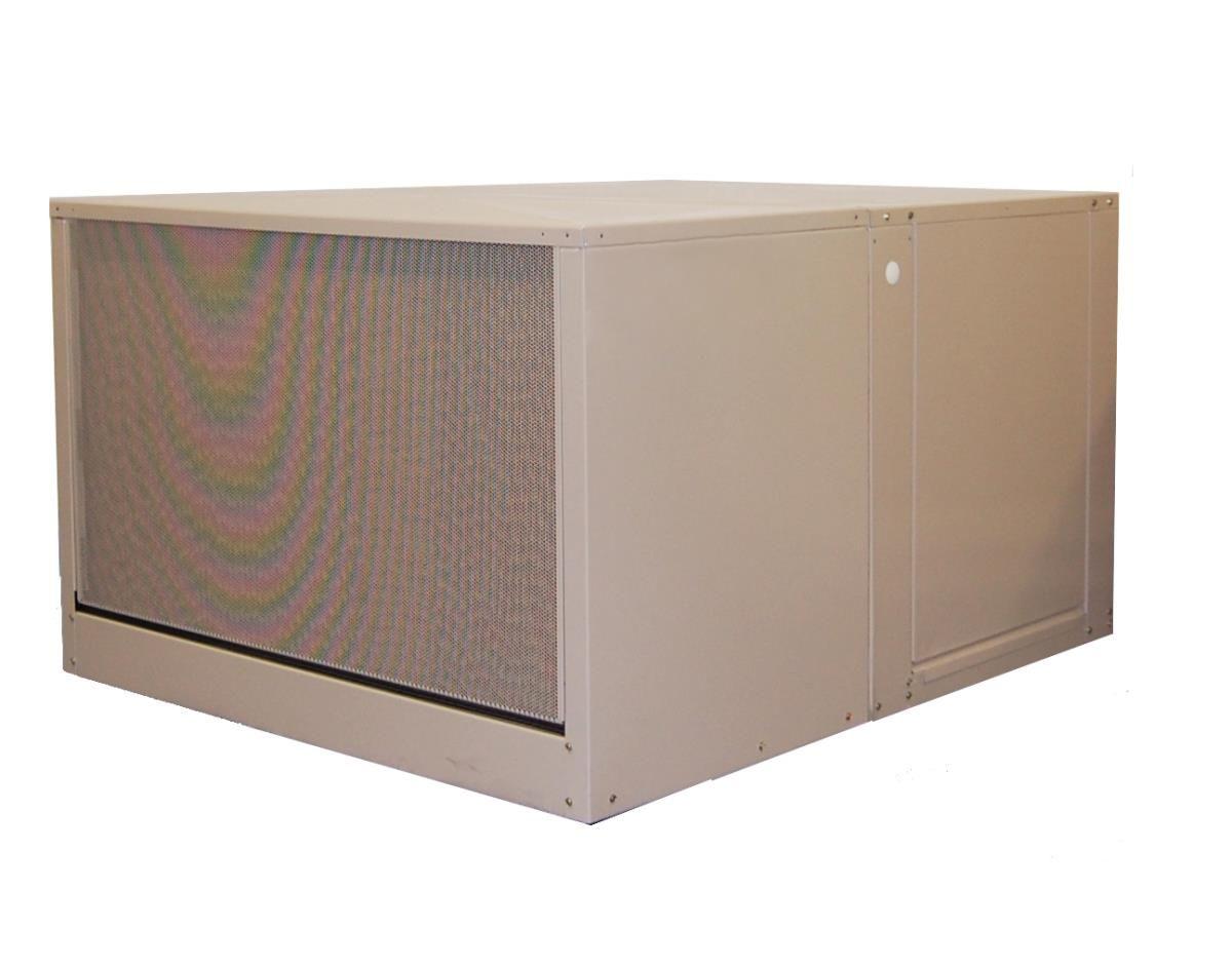 MasterCool AD1C7112 7000 CFM 2 Speed Down Draft 12 In. Media Evaporative Cooler   #SwampCooler