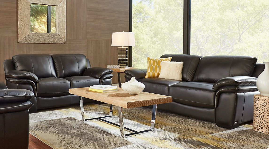 Fantastisch Schwarze Leder Wohnzimmer Möbel: Immer Elegant! Es Ist Wahr, Dass Schwarze  Leder Wohnzimmer Möbel Ist Teuer, Aber Es Lohnt Sich Zu Kaufen, Weil Sie.