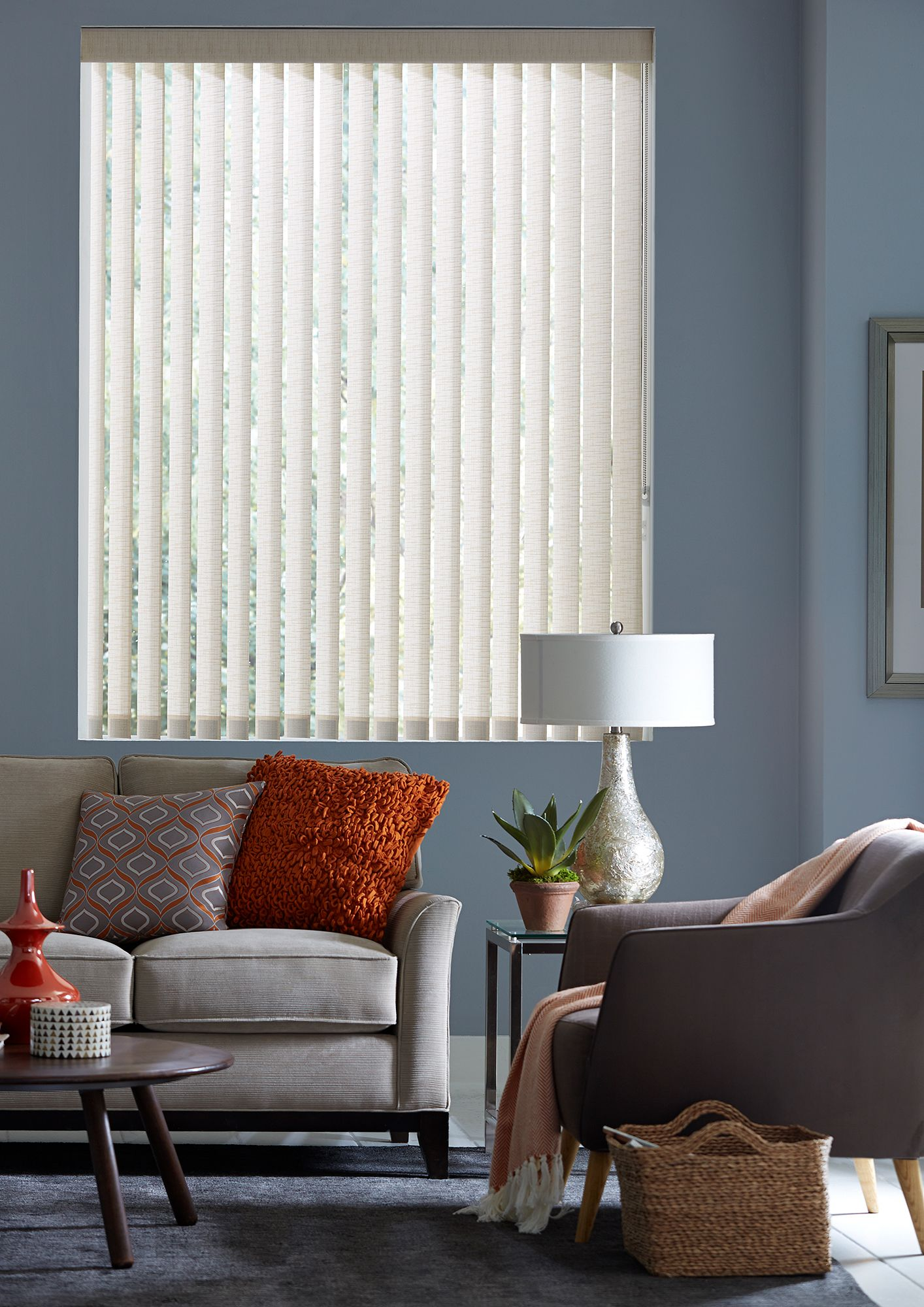Blinds Com Fabric Vertical Blinds Shown In The Pattern Paris Sand