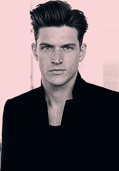Classic hairstyle for men