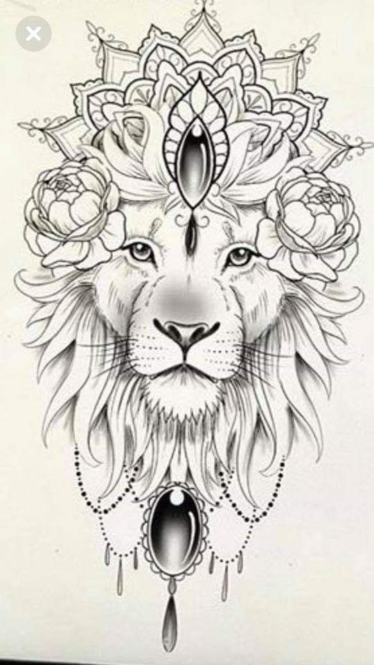 100 Trending Tattoo Ideas For Your Best Inspired 2019 Lion Tattoo Design Lion Tattoo Animal Tattoos
