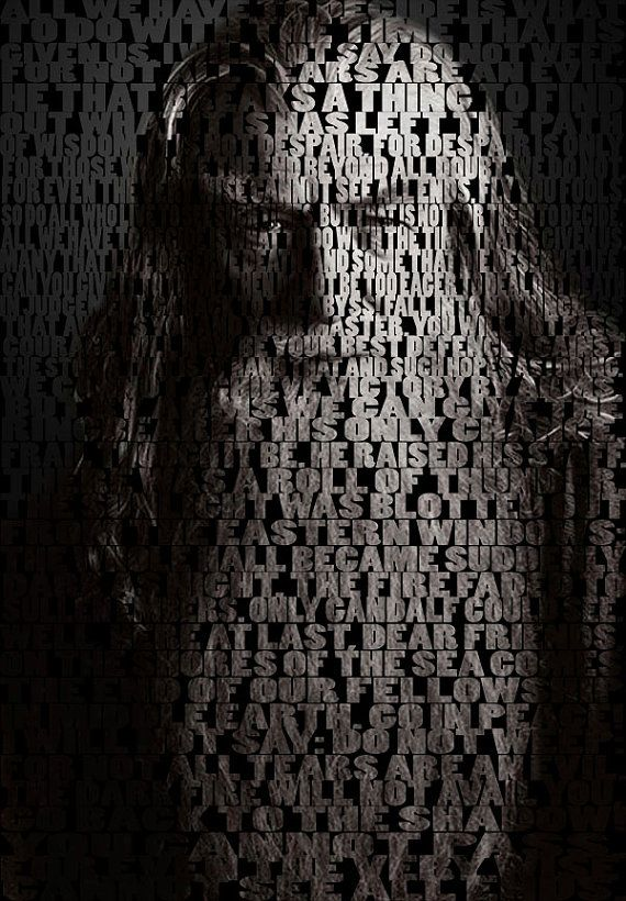 Lord of rings quotes gandalf