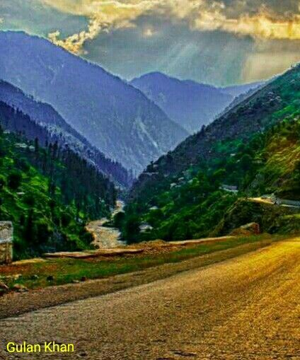 So fantastic nature beauty wonderful greenish mountains beautiful