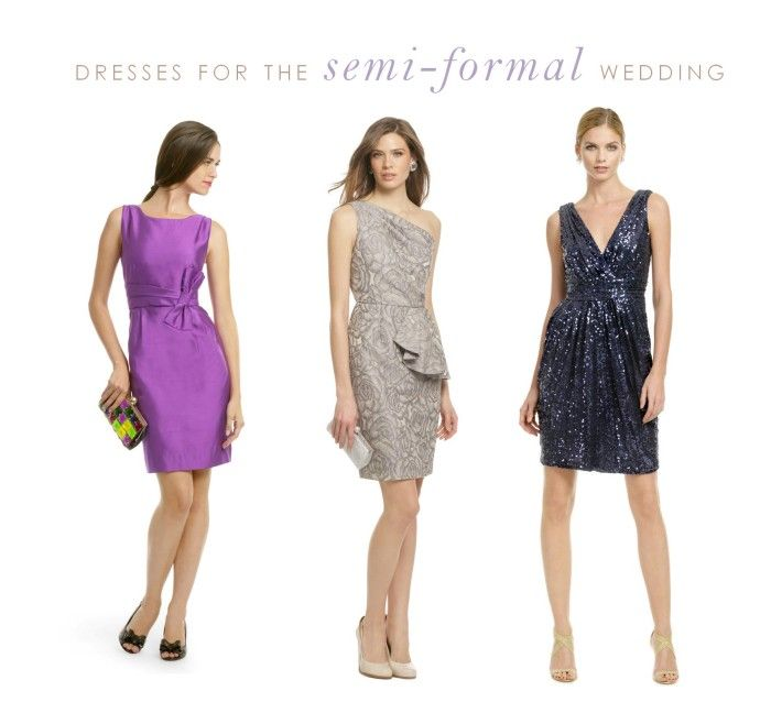 Dresses for weddings semi formal wedding formal wedding for Formal dress code wedding