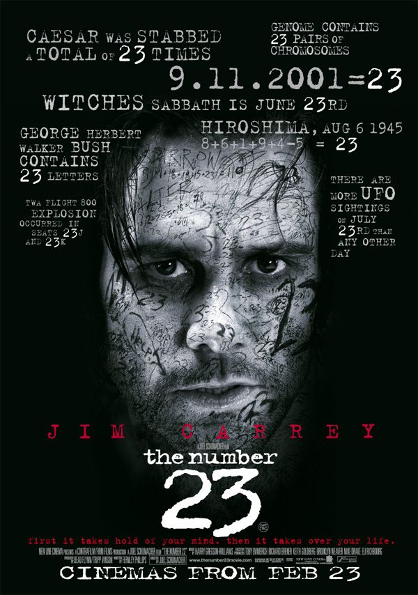 The Number 23 Love Movie Thriller Movie Scary Movies