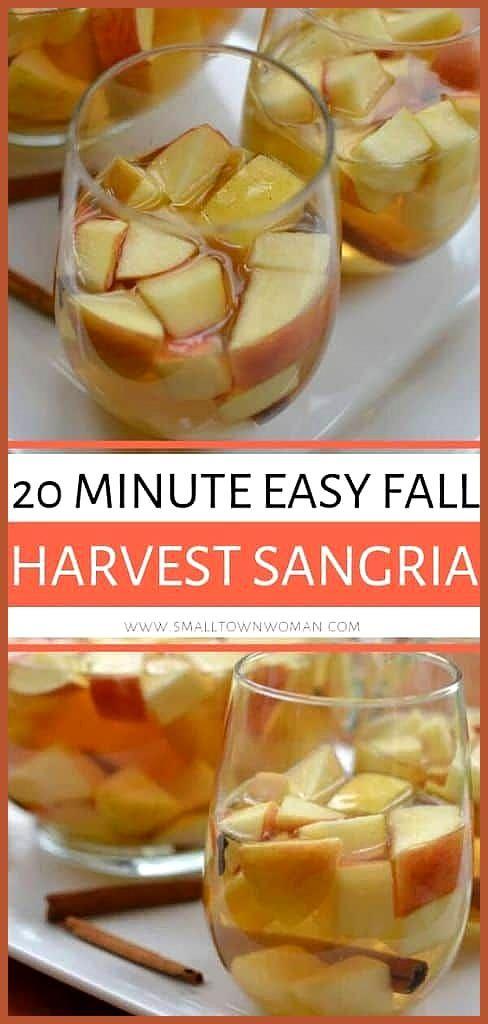 20 Minuten Easy Fall Harvest Sangria 20 Minuten Easy Fall Harvest Sangria