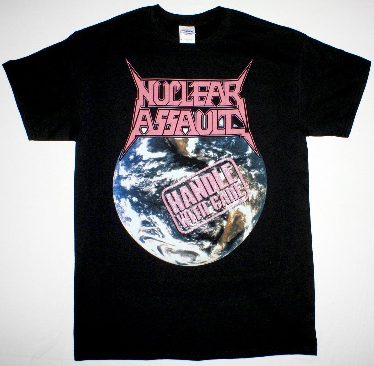 Click to Buy << NUCLEAR ASSAULT HANDLE WITH CARE S.O.D. ANTHRAX TRASH  METAL. >>